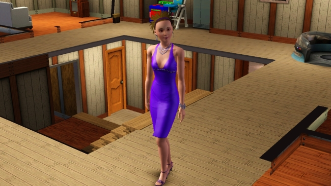 I don't normally gush over virtual women, but that dress looks smashing!