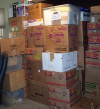 This is kindof what our stacking area looks like.